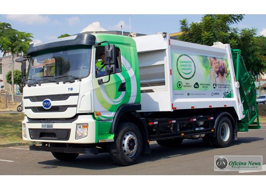 Corpus anuncia aquisição de 200 caminhões 100% elétricos