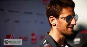 Após o acidente em Barcelona Romain Grosjean é o centro das atenções nos paddocks da F-1 (Haas)