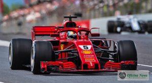 Sebastian Vettel ficou em quarto lugar em mais uma prova na qual não subiu ao pódio (Ferrari)