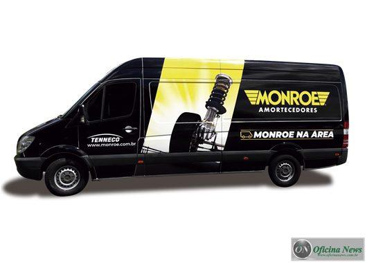 Monroe oferece checagem grátis da suspensão em São Paulo