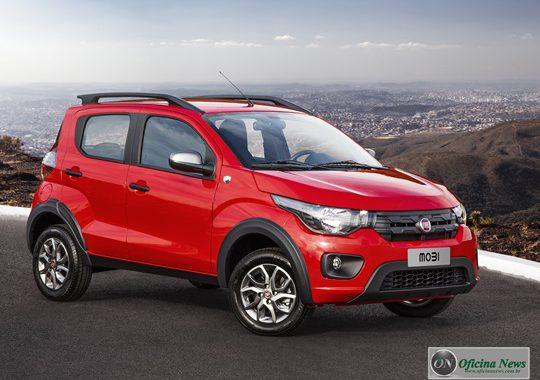 Fiat apresenta a sua gama reformulada do Uno e Mobi 2019