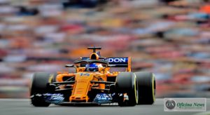 McLaren de Alonso no GP da Áustria de 2018: asa dianteira de 2017 e piloto indefinido para 2019 (McLaren)