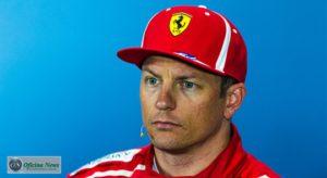Räikkönen admiriu que errou e classificou batida com Hamilton como acidente de corrida (Ferrari)
