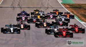 18 carros no grid do GP a Grã-Bretanha: Os dois Williams largaram dos boxes (Ferrari)