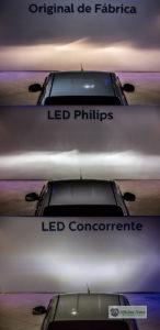 Tecnologia LED requer atenção ao ser instalada nos faróis