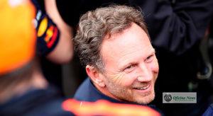 Christian Horner defende, nas entrelinhas, o investimento da Honda, nova parceira da sua equipe (RBCP/Getty Images