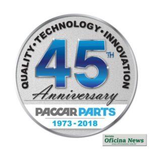 PACCAR Parts celebra 45 anos de operações como distribuidora
