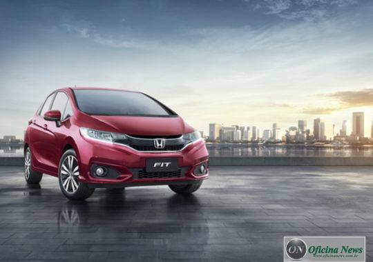 Honda Fit 2019 recebe mais equipamentos e estreia nova cor