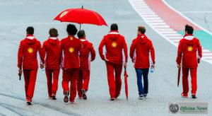 Ambiente na Ferrari é marcado por chuvas e trovoadas desde a fundação da marca, em 1947 (Ferrari)