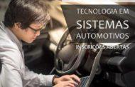 SENAI abre inscrições para curso de sistemas automotivos