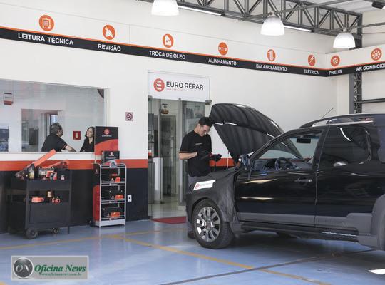 Euro Repar Car Service Oferece Estrutura Para Oficinas