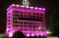 Mercedes-Benz do Brasil veste rosa durante o mês de outubro