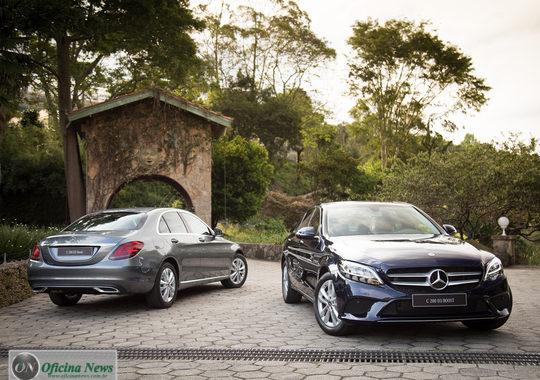Novo Mercedes-Benz Classe C chega ao mercado brasileiro