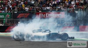 Hamilton selou no México a conquista do Campeonato Mundial, o quinto de sua carreira (Mercedes)
