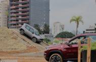 Jeep monta arena off-road para seus clientes em São Paulo
