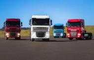Caminhões DAF XF105 chegam em quatro novas cores