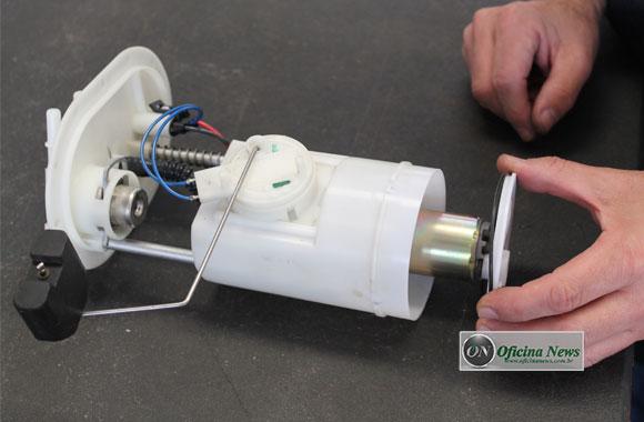 Diagnóstico da bomba de combustível no Palio