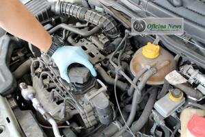 Troca do filtro de óleo do Chevrolet Classic