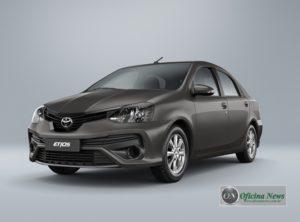 Toyota Etios 2019 traz nova versão e modificações em design