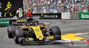 Nico Hulkenberg teve ajuda dos boxes para superar Carlos Sainz e terminar em oitavo lugar (Renault Sport)