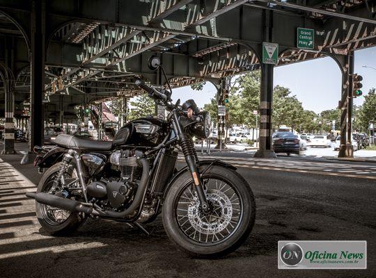 Triumph Bonneville T100 Black chega ao mercado brasileiro