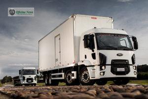 Novo caminhão Cargo 3031 8x2 é apresentado pela Ford