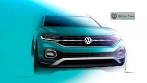 VW T-Cross, apresentação em gotas
