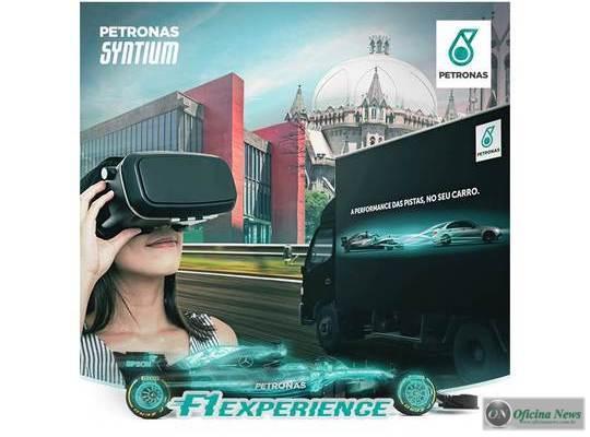 PETRONAS leva simulador de F1 para as ruas de São Paulo