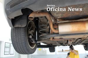 Troca do amortecedor do Chevrolet Cruze