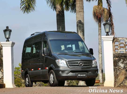 Mercedes-Benz aumenta em 66% as vendas da Linha Sprinter