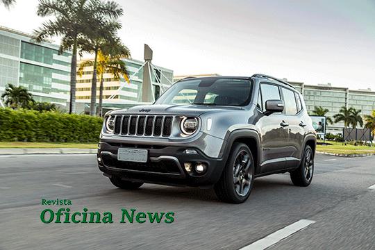 Novo Jeep Renegade: design e conectividade