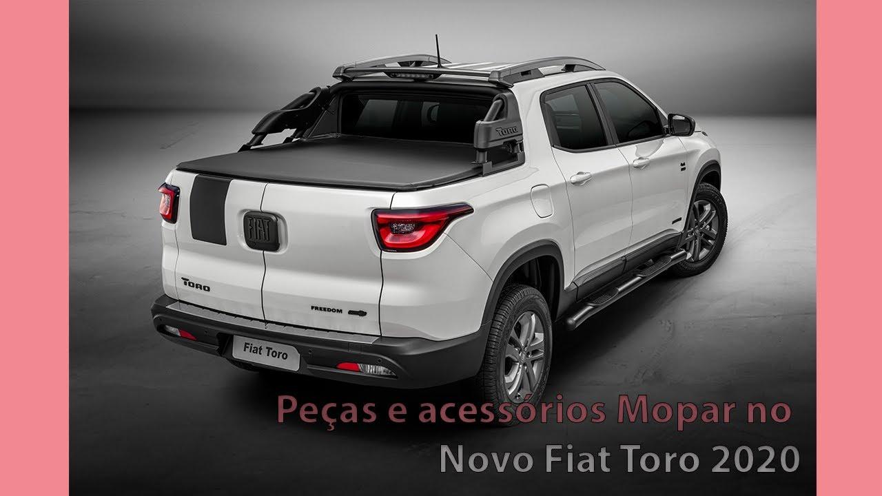 Peças e acessórios Mopar no lançamento do Fiat Toro