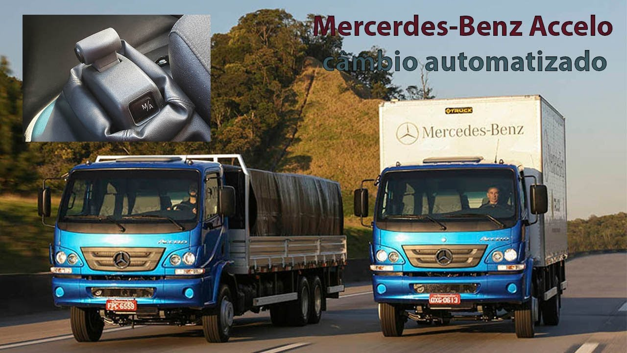 Vídeo traz Mercedes-Benz Accelo com câmbio automatizado