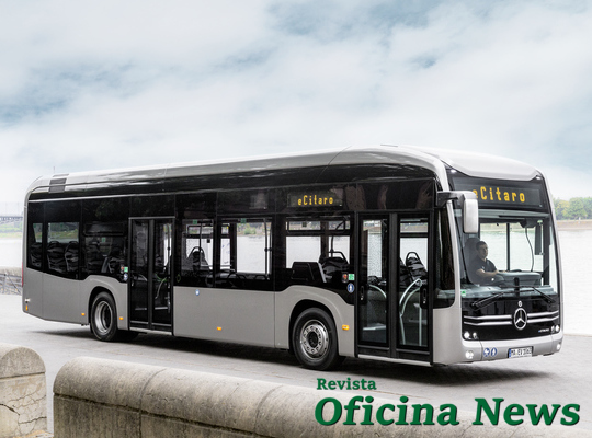 Mercedes-Benz exporta as primeiras unidades do eCitaro