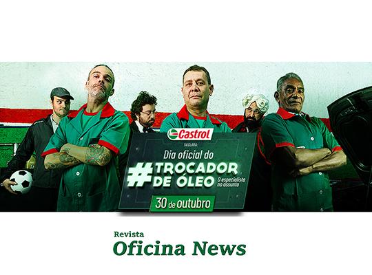Castrol comemora em 30 de outubro o Dia do Trocador de Óleo