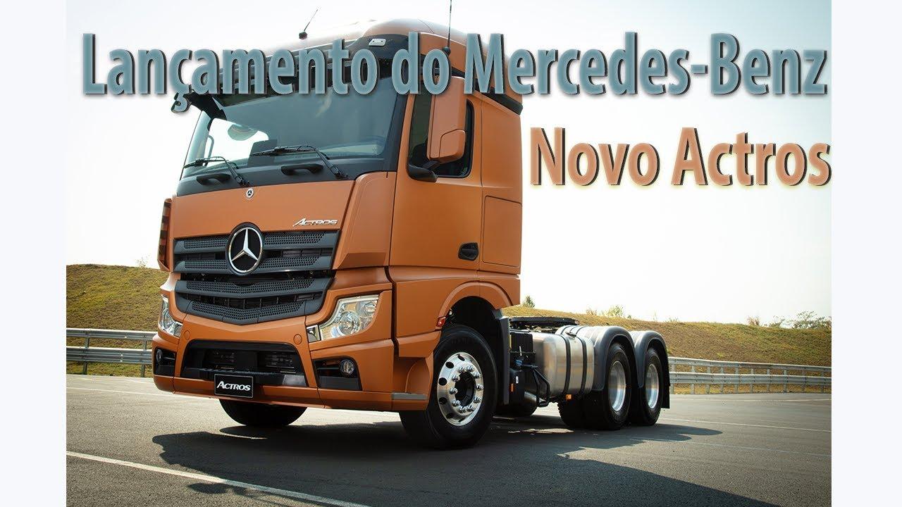 Lançamento Mercedes-Benz Novo Actros