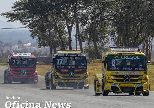 Pilotos da AM Motorsport disputam a final da Copa Truck