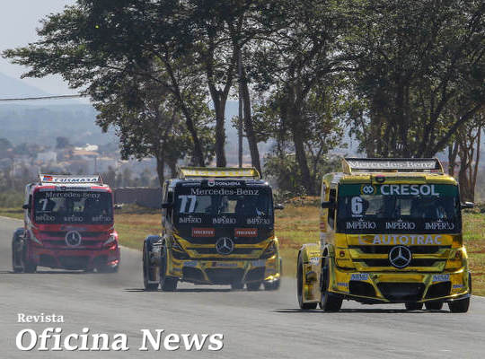 Pilotos da AM Motorsport disputam a final da Copa Truck