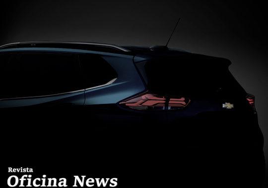 Chevrolet revela detalhes de design do Novo SUV Tracker
