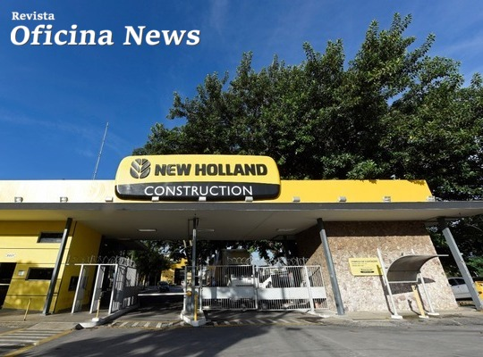 New Holland Construction celebra 70 anos no mercado nacional