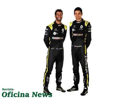 Renault F1 Team inicia oficialmente a sua campanha 2020