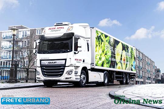 DAF Trucks dá início aos testes de campo com o caminhão CF Hybrid