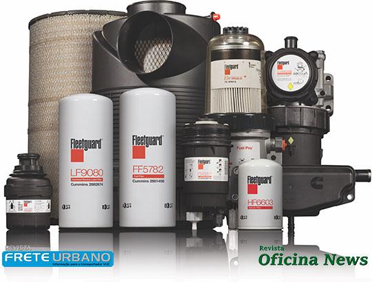 TRP fecha parceria com a Fleetguard para fornecimento de kit de filtros