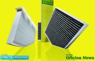 Mann reforça as propriedades de bloquear impurezas do filtro de cabine