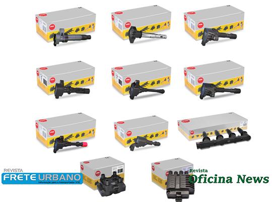 NGK apresenta 11 modelos de bobinas de ignição