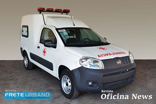 Fiat apresenta Fiorino Ambulância já implementado