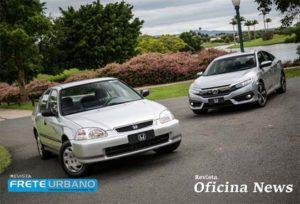 Honda comemora seu primeiro modelo nacional no dia do automóvel