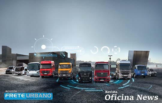 Mercedes-Benz lança showroom virtual para veículos comerciais