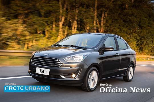Ford reforça em vídeo os segredos do Ford Ka Sedã