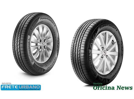 Continental explica o desenho dos sulcos dos pneus